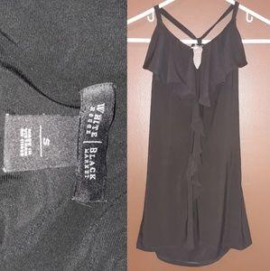Black dressy halter